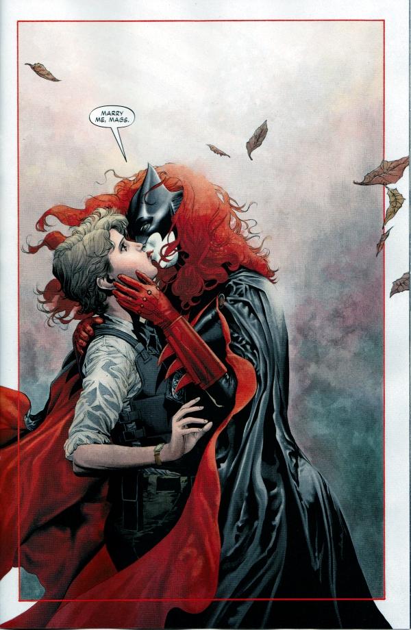 batwoman y maggie