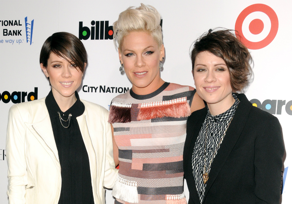 tegan and sara and pink