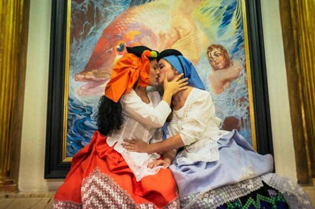Yusivay González y María Jesús Alonso fotografias porAnabel Vargas.