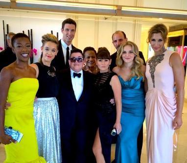 El equipo al completo acudió a la gala de entrega de los primetime Emmys 2014