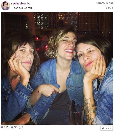 Tegan, Lindsay y Kate Moennig y su quedada en ropa vaquera