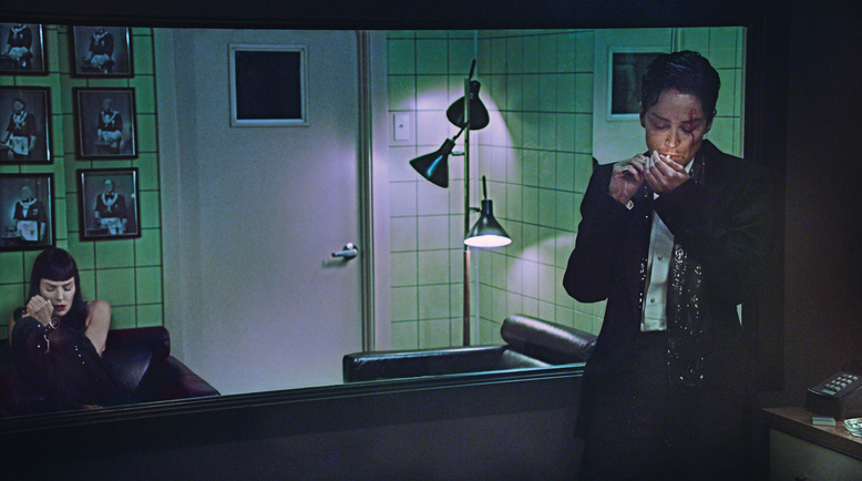 "Sharon Stone fotografiada por Steven Klein para el reportaje ""Scorsese's women"" de la revista W."