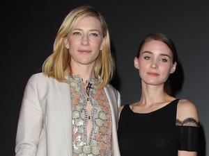 """Cate Blanchett y Rooney  Mara son las amantes protagonistas de """"Carol"""""""