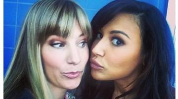 Heather Morris y Naya Rivera (Brittany y Santana) se dejan ver juntas en Instagram