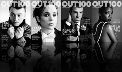 Ellen Page y Samira Willey, portada del número especial de la revista OUT