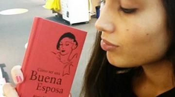 Patricia Yurena y su manual de la buena esposa