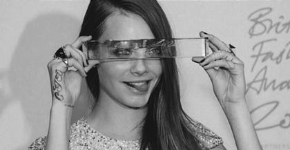 Cara Delevingne, premiada en UK como modelo del año
