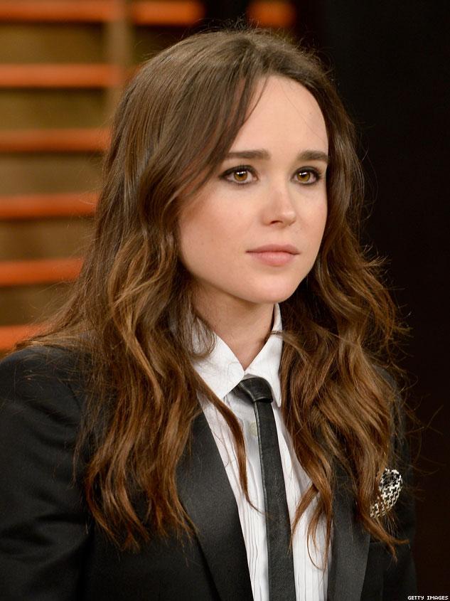 La actriz Ellen Page salió del armario este 2014 en una gala organizada por GLAAD