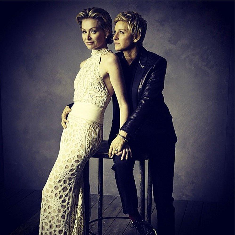 A pesar de los rumores que las quieren separar, Ellen y Portia han celebrado este año su sexto aniversario de casadas.