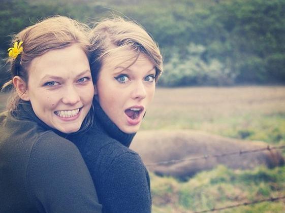 karlie klooos y Taylor Swift