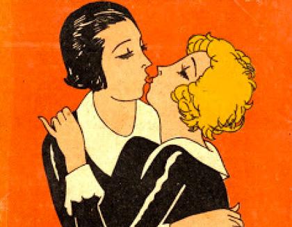 El erotismo lésbico, portada de Lavanguardia