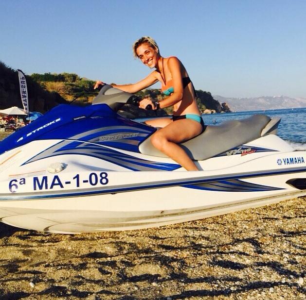 Ondina ha pasado unos días entre colegas en la costa malagueña pero ya está de vuelta en Madrid