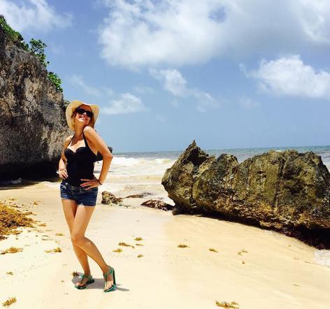... Y las playas del Yucatán.