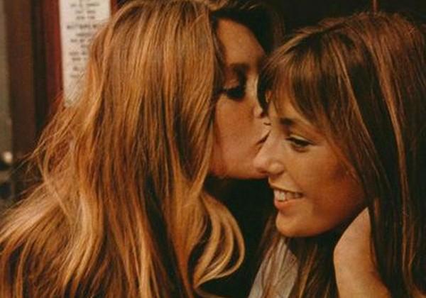 El lesbibeso de Brigitte Bardot y Jane Birkin
