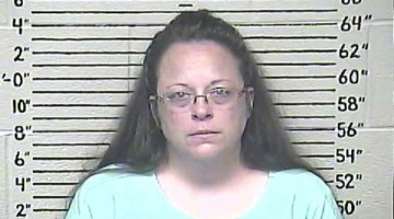 Kim Davis, la funcionaria homófoba
