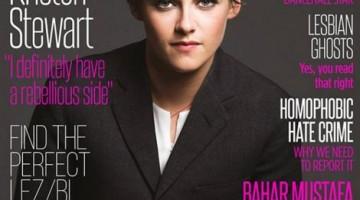 Kristen protagoniza la portada de la revista lesbi Diva este mes de diciembre.