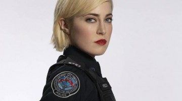 "ROOKIE BLUE - Charlotte Sullivan stars as Gail Peck in ""Rookie Blue."" (ABC/BARBARA COLE)"