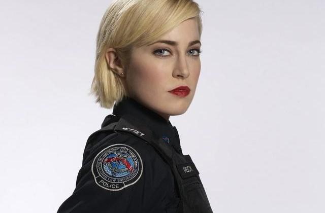 "ROOKIE BLUE - Charlotte Sullivan stars as Gail Peck in ""Rookie Blue."" (ABC/BARBARA COLE)"