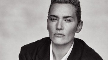 Espectacular Kate Winslet en plan 'tomboy' en L'Uomo Vogue