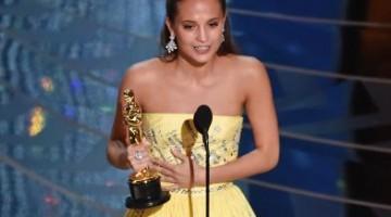 Oscars 2016 alicia vikander