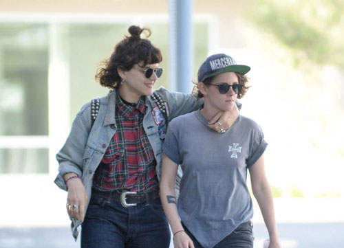 Nueva lesbipareja a la vista: Kristen Stewart y Soko