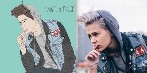 La lesbimodelo Madison Paige se estrena como cantante