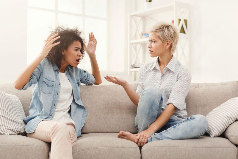 Como actuar en discusiones de pareja