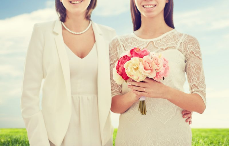 Boda low cost para un matrimonio entre mujeres