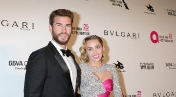 Miley Cyrus rompe con su marido