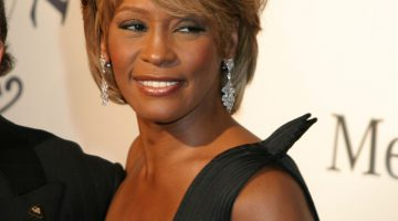 whitney houston tuvo una novia
